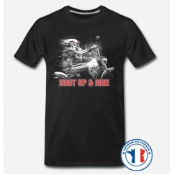 Bikers-Custom : T shirt biker shup and ride