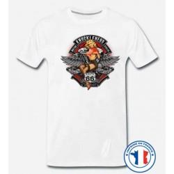 Bikers-Custom : T shirt biker knucklehead