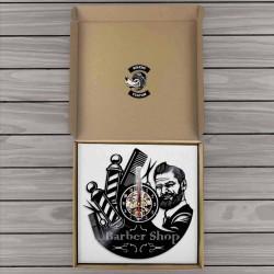 Horloge murale barber shop 1