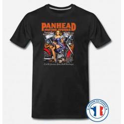 Bikers-Custom : T shirt biker panhead motor works
