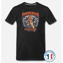 Bikers-Custom : T shirt biker shovelhead