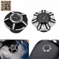 Bouchon de réservoir avec horloge
