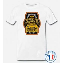 Bikers-Custom : T shirt biker gasoline alley