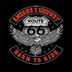Bikers-Custom : T shirt biker born to ride