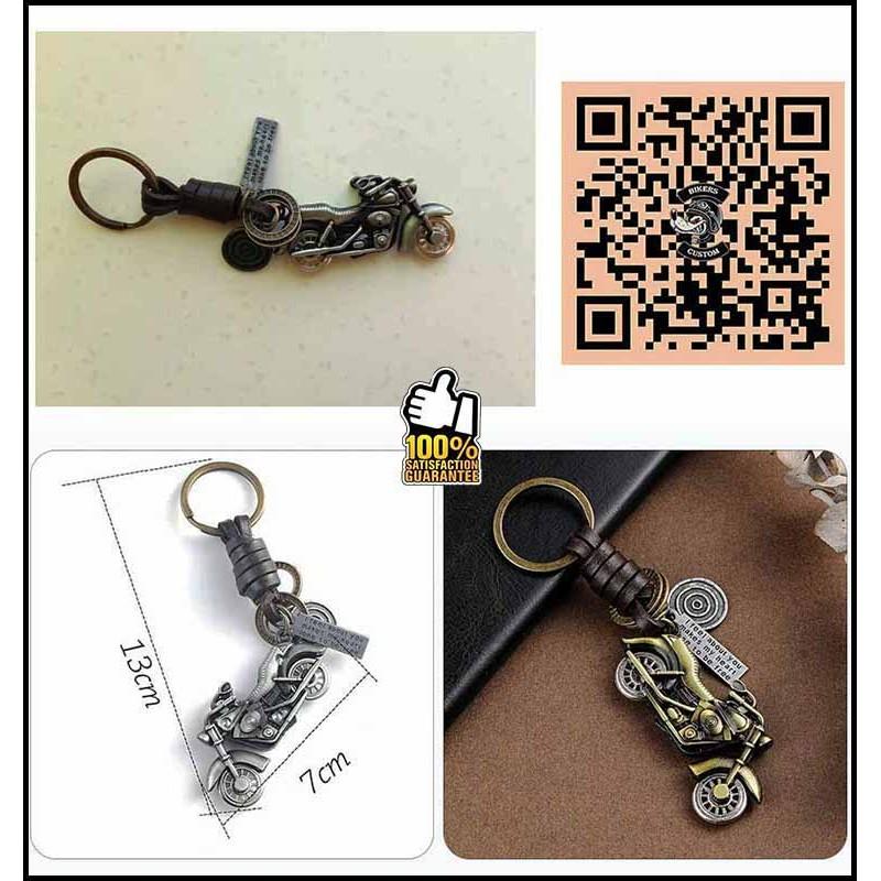 Bikers-Custom : Porte clés Hd Bike