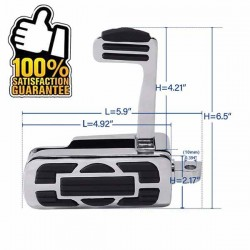 Bikers-Custom : kit cales pieds drawer pour Harley