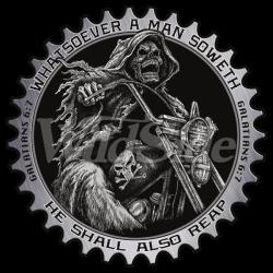 Bikers-Custom : T shirt biker whatsoever