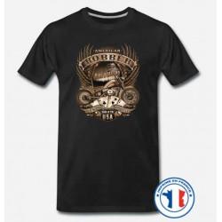 Bikers-Custom : T shirt biker old school bobber