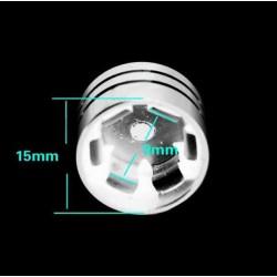 Bikers-Custom : caches écrous moteur 9 à 11.5 mm