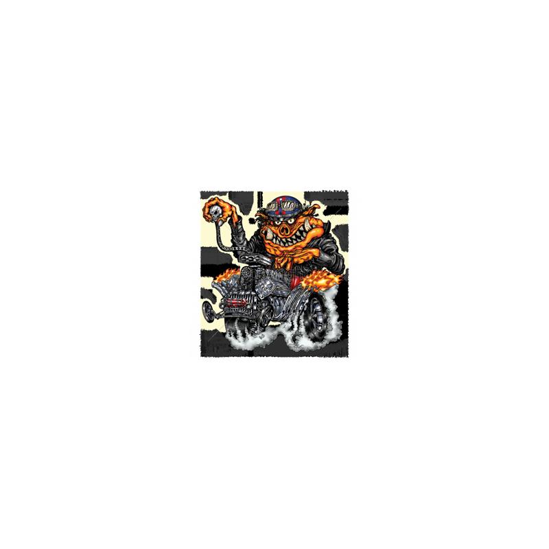 Bikers-Custom : Débardeur homme HOT ROD PIG