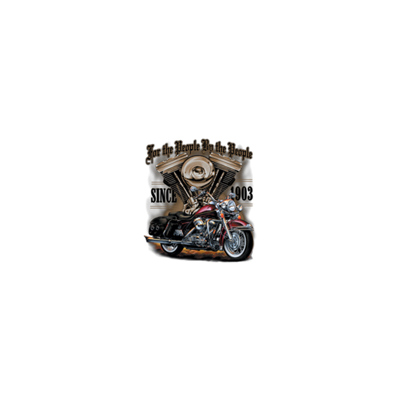 Bikers-Custom : Débardeur homme THE PEOPLE BY THE PEOPLE