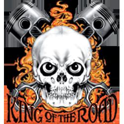 Bikers-Custom : Débardeur homme KING OF THE ROAD