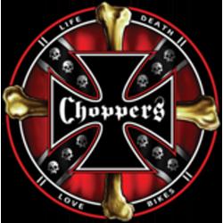 Bikers-Custom : Débardeur homme CHOPPERS AND BONES