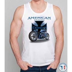 Bikers-Custom : Débardeur homme AMERICAN ORIGINAL