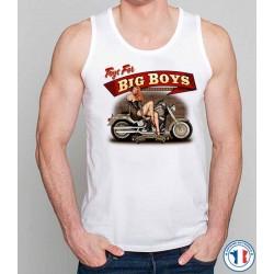 Bikers-Custom : Débardeur homme TOYS FOR BIG BOYS
