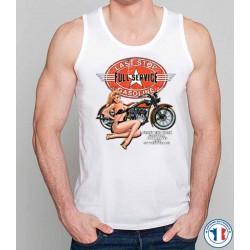 Bikers-Custom : Débardeur homme LAST TOP