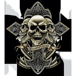 Bikers-Custom : Débardeur homme BROTHERHOOD