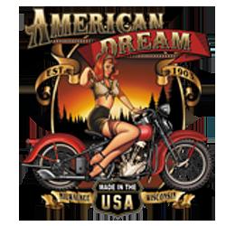 Bikers-Custom : Débardeur homme AMERICAN DREAM