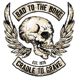 Bikers-Custom : Débardeur homme BAD TO THE BONE
