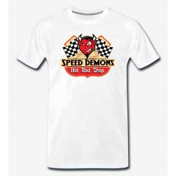 Bikers-Custom : T shirt biker speed démon