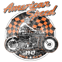 Bikers-Custom : Débardeur homme AMERICAN SPEED