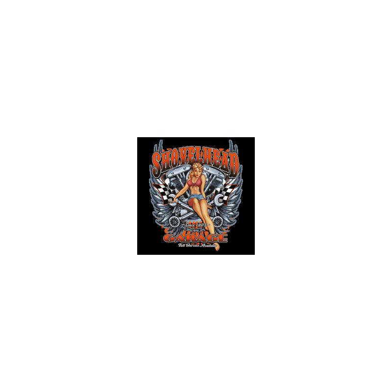 Bikers-Custom : Débardeur homme SHOVELHEAD