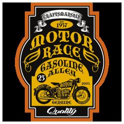 Bikers-Custom : Débardeur homme GASOLINE ALLEY