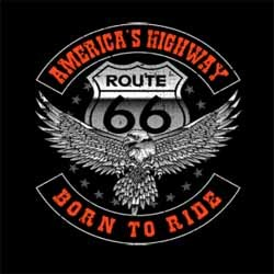 Bikers-Custom : Débardeur homme BORN TO RIDE