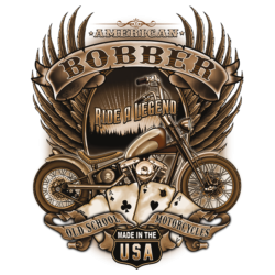 Bikers-Custom : Débardeur homme OLD SCHOOL BOBBER