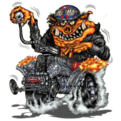 Sweat biker HOT ROD PIG