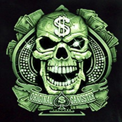 Bikers-Custom : Sweat biker MONEY TIME