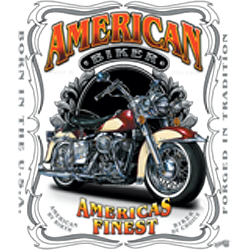 Bikers-Custom : Sweat biker AMERICAS FINEST