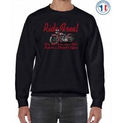 Bikers-Custom : Sweat biker RIDE FREE !