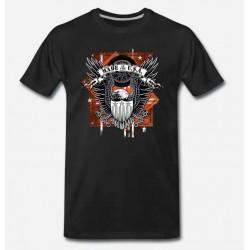 Bikers-Custom : T shirt biker usa eagle
