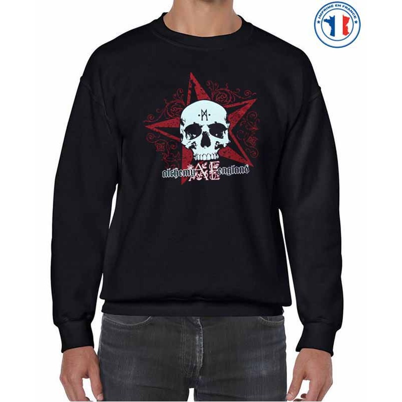 Bikers-Custom : Sweat biker A.E STAR