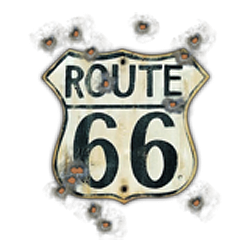 Bikers-Custom : Sweat biker OLD ROAD 66