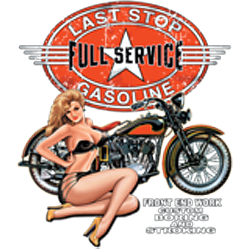 Bikers-Custom : Sweat biker LAST TOP
