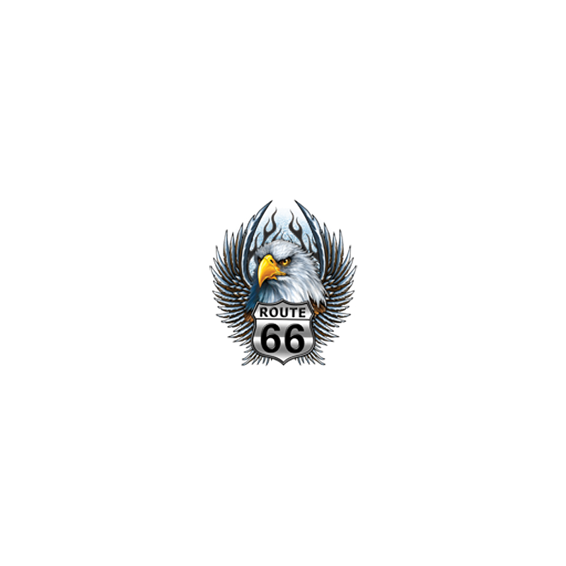 Bikers-Custom : Sweat biker ROAD 66 EAGLE