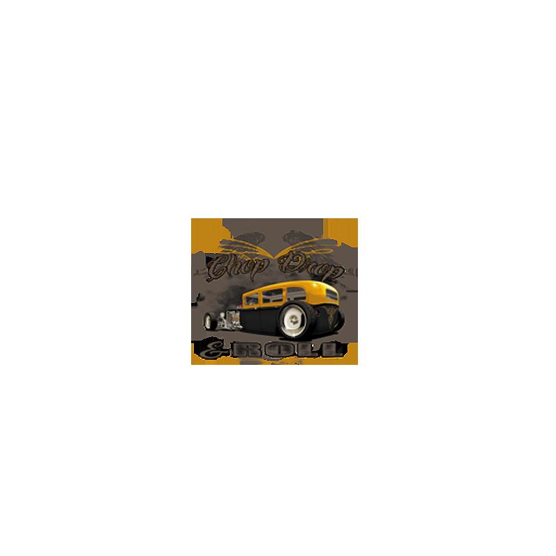 Bikers-Custom : Sweat biker CHOP, DROP AND ROCK AND ROLL