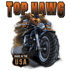 Bikers-Custom : Sweat biker TOP HAWG