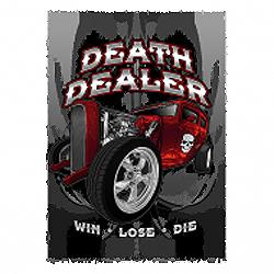 Bikers-Custom : Sweat biker DEATH DEALER
