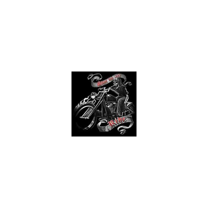 Bikers-Custom : Sweat biker RIDE FREE