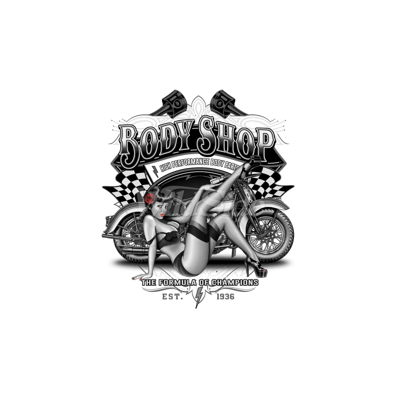 Bikers-Custom : Sweat biker BODY PARTS