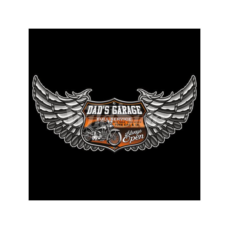 Bikers-Custom : Sweat biker DAD'S GARAGE