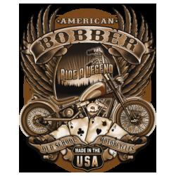 Bikers-Custom : Sweat biker OLD SCHOOL BOBBER