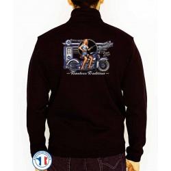 Bikers-Custom : Sweat zippé TIMELESS TRADITION