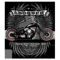 Bikers-Custom : Sweat zippé BOBBER