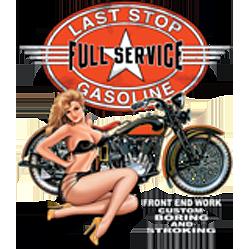 Bikers-Custom : Sweat zippé LAST TOP