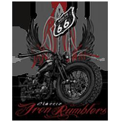 Bikers-Custom : Sweat zippé IRON RUMBLER'S