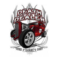 Bikers-Custom : Sweat zippé DEATH DEALER